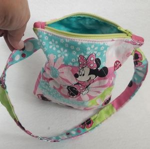 Girl's Minnie Mouse cross body purse